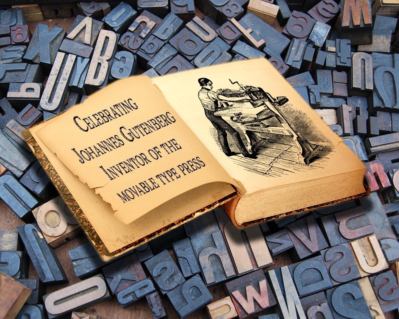 Celebrating the Gutenberg Press and Woodcut Prints